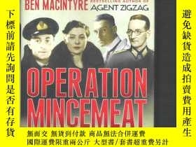 二手書博民逛書店英語間諜故事書罕見Operation Mincemeat   B