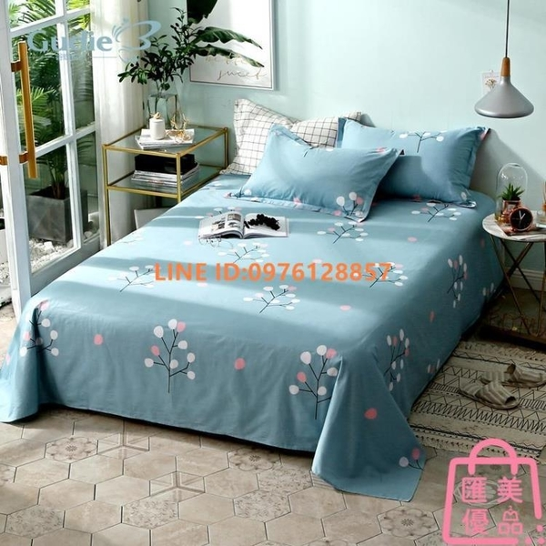 單件丨全棉碎花床包1.5米床 純棉布1.8m雙人床被單床墊罩【匯美優品】