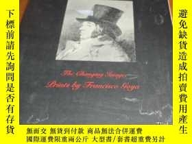 二手書博民逛書店2手英文罕見Prints by Francisco Goya 戈