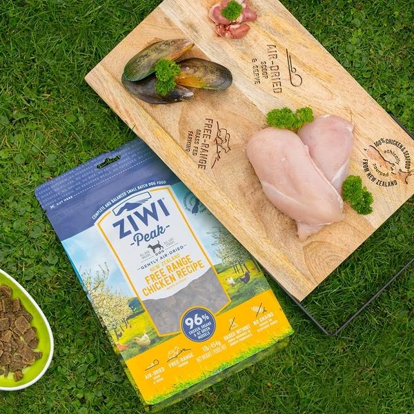 【SofyDOG】ZiwiPeak巔峰 96%鮮肉狗糧-雞肉(4kg) 生食 狗飼料 成犬  幼犬