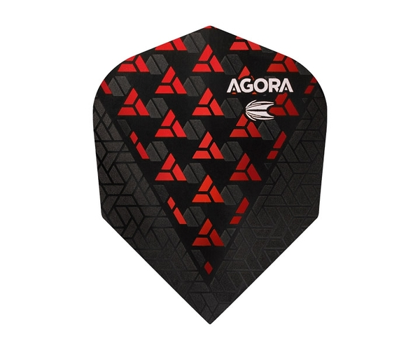 【TARGET】VISION ULTRA GHOST SHAPE AGORA Red 332560 鏢翼 DARTS