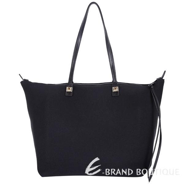Rebecca Minkoff MAB Neoprene 拼接設計購物包(黑色) 1620123-01