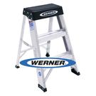 美國 Werner 穩耐安全鋁梯 150B 鋁合金梯凳 維修保養梯 /台  (出貨後無法退換貨)