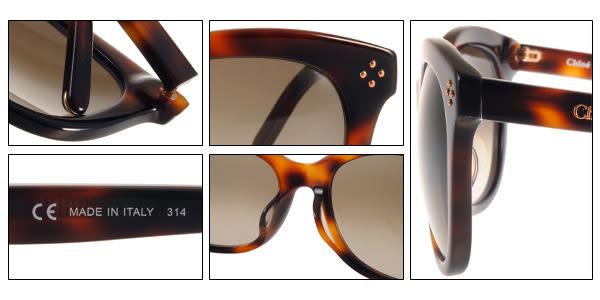 Chloe 太陽眼鏡 CL669SA 219 (琥珀) 時尚魅力名媛款 # 金橘眼鏡