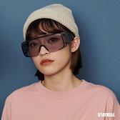 STAYREAL 潮流護目鏡 - 黑