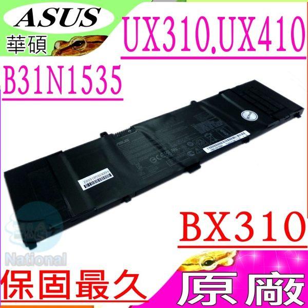 ASUS 電池(原廠)-華碩 B31N1535,UX410電池,BX310電池,UX410UF,UX410UQ,BX310U,BX310UA,OB20-02020000