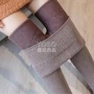 保暖褲仿羊絨螺紋加絨加厚打底褲女外穿2019秋冬一體高腰大碼保暖棉褲女