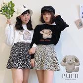 現貨◆PUFII-T恤 兔寶寶玩偶圓領長袖上衣T恤-0811 夏【CP20896】