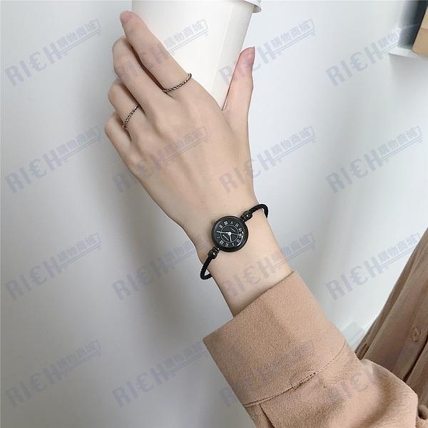 手表女小表盤小巧復古手鏈中學生韓版簡約ins風女士森系文藝手鐲