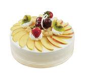 【上城蛋糕】生日蛋糕 限自取 紅茶蘋果戚風 8吋 水果蛋糕 紅茶蛋糕 淡雅口味