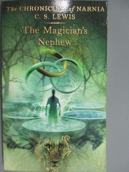 【書寶二手書T5/原文小說_KNJ】The Magician s Nephew_C. S. LEWIS