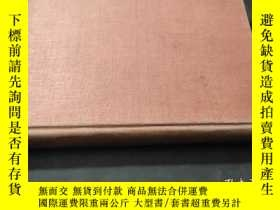 二手書博民逛書店analysis罕見of minerals and ores of the rarer elements 稀有 素