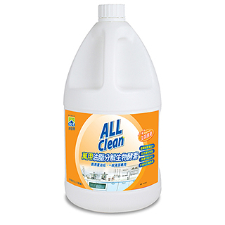 多益得All Clean 油脂分解酵素3785ml 2入一箱/