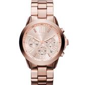 Michael Kors MK BRADSHAW 羅馬假期計時腕錶(MK5778)40mm