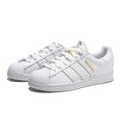 ADIDAS 休閒鞋 SUPERSTAR 白 金標 皮革 經典 貝殼頭 女 (布魯克林) FW3713