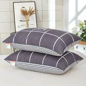 可水洗枕頭 枕頭枕芯一對裝學生宿舍床成人護頸椎枕單人男女孩XC