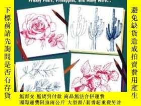二手書博民逛書店Draw罕見50 Flowers, Trees, And Other PlantsY256260 Ames,