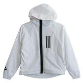 Adidas 愛迪達 W WND JKT FL  連帽外套 DZ0033 女 健身 透氣 運動 休閒 新款 流行
