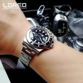 雷力歐手錶男士全自動機械錶男錶商務潛水夜光錶運動防水鏤空  野外之家