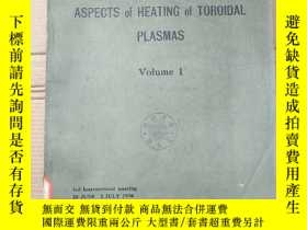 二手書博民逛書店theoretical罕見and experimental aspects of heating of toroi