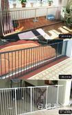 寵物狗狗圍欄 91~96寬度可安裝 可加寬狗柵欄泰迪貓狗加密隔離欄嬰兒安全門護欄