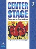 二手書博民逛書店 《Center Stage: Grammar to Communicate》 R2Y ISBN:9780136133285│Pearson Longman