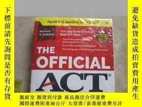 二手書博民逛書店The罕見Official ACT Prep Guide, 20