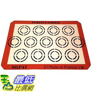 [美國直購] Silpat AE420295-12 餅乾烤墊 矽膠墊 烘培 烤箱 Perfect Cookie Baking Sheet