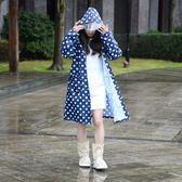 雨衣 雨衣成人女款韓國時尚徒步雨披戶外單人外套防水衣【韓國時尚週】