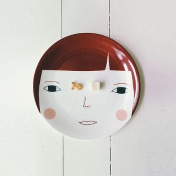Donna Wilson Grace英倫女孩骨瓷盤 餐盤 21cm