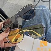 大框墨鏡男女士大臉顯瘦眼鏡開車太陽鏡潮韓版【慢客生活】