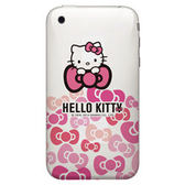 Hello kitty 手機彩繪包膜 DIY機身貼 現代蝴蝶結系列 (202)