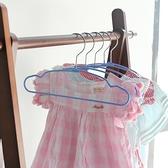 20個裝 兒童衣架寶寶曬晾衣掛家用衣撐【步行者戶外生活館】
