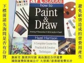 二手書博民逛書店artscbool罕見how to Paint Draw Dra