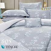 60支天絲床包兩用被四件式 雙人5x6.2尺 欣雅 100%頂級天絲 萊賽爾 附正天絲吊牌 BEST寢飾