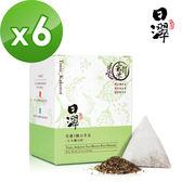 【日濢Tsuie】花蓮4號山苦瓜玄米茶(10包/盒)x6盒