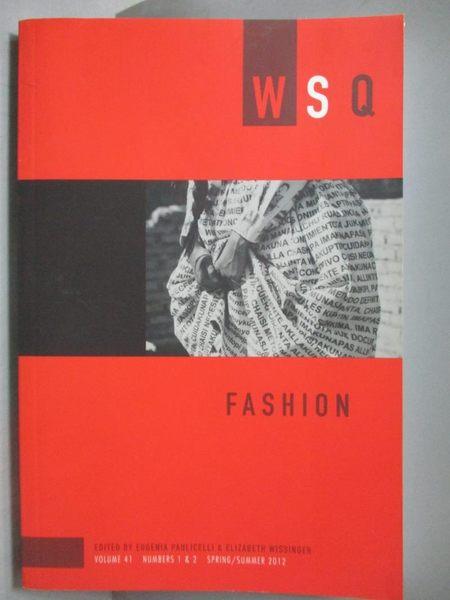 【書寶二手書T5/原文書_ZFX】Fashion_Eugenia Paulicelli