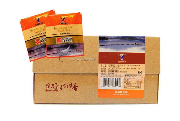 免運(超商取貨)五盒~日月潭~阿薩姆紅茶~茶包--南投縣魚池鄉農會