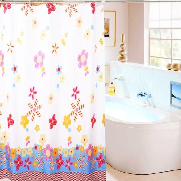 【EVA浴簾】衛浴防水防霉浴室簾 隔斷簾 門簾 附C型掛鉤
