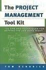 二手書《Project Management Tool Kit, The: 100 Tips and Techniques for Getting the Job Done Right》 R2Y 0814408109