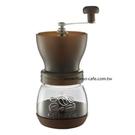 金時代書香咖啡 Tiamo 密封罐陶瓷磨豆機 雕花密封罐設計 咖啡 HG6149BW