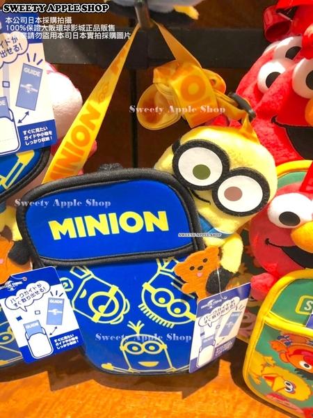 (現貨&樂園實拍) 日本 大阪環球影城限定 小小兵 掛繩 票卡夾套&手機袋包 / 收納袋