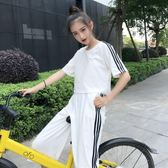 洋裝-運動休閒套裝夏裝短袖兩件套學生女【全館88折】