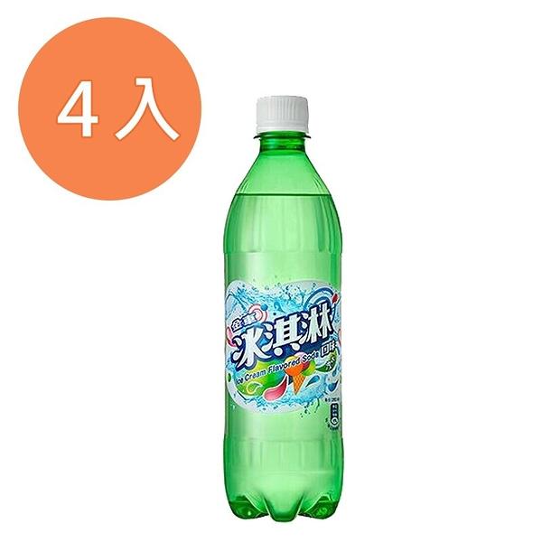 金車冰淇淋汽水585ml(4入)/組