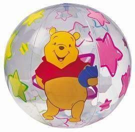 [衣林時尚] INTEX 24吋 小熊維尼沙灘球 海灘球 (球體直徑約36cm)58056 (促銷價 OPP袋包裝)