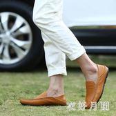 潮男豆豆鞋 豆豆鞋保羅駱駝男鞋夏季透氣單鞋潮鞋男士 WD1123『衣好月圓』