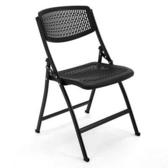 椅子-培訓椅帶寫字板折疊會議室椅子桌椅一體學生靠背簡約透氣辦公椅 鉅惠85折