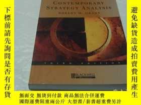 二手書博民逛書店Contemporary罕見Strategy Analysis(