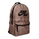 Nike 包包 Jordan 男女款 咖啡 後背包 筆電 喬丹 大容量 夾層 水壺袋【ACS】 JD2133002GS-004