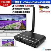 同屏器手機同屏器無線投汽車載電視投影儀電腦HDMIVGAAV屏幕轉換神盒 夏季上新